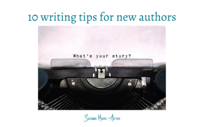 10 writing tips for new authors
