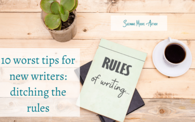 10 worst tips for new writers: ditching the rules